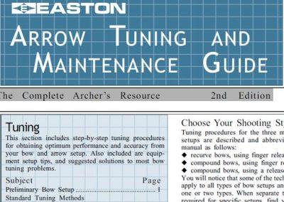Arrow Tuning