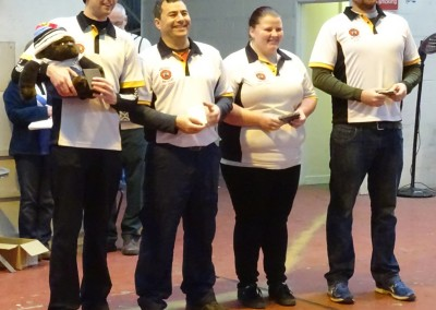 Team Gold Winners