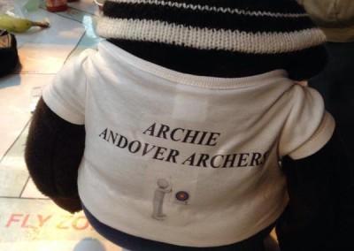 Archies own team shirt